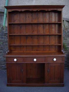 Antique Furniture Victorian Pine Dresser