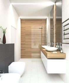 36 suprising small bathroom design ideas for apartment decorating 9 Bathroom Design Luxury, Bathroom Layout, Modern Bathroom Design, Bathroom Ideas, Bathroom Organization, Minimalist Bathroom Design, Bathroom Designs, Kitchen Designs, Zen Bathroom Decor