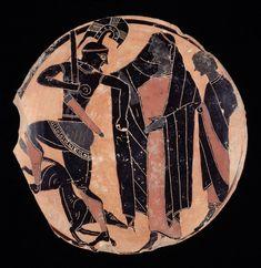 My Ancient World. - centuriespast: Attributed to Lydos Greek,...