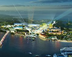 Universal Studio Singapore is a Theme Park located within Resorts World on Sentosa Island, Singapore. Occupying 20 hectare of land, it consist of 24 attractions and 18 of them are original and specifically design for the new park.