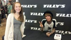Madison and Christofer Drew of Never Shout Never
