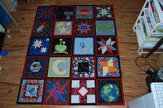 Space Quilt Top - http://blog.sewbittersweetdesigns.com