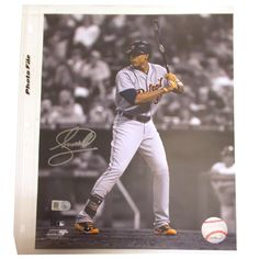 Detroit Tigers Steven Moya Autographed Photograph - MLB.com Shop