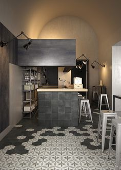 FAP Ceramiche is a tile company manufacturer from Italy offering floor and wall tiles for all the requirements in architecture and interior design. Tile Suppliers, Hexagon Shape, Hexagon Tiles, Style Tile, Tile Patterns, Tile Design, Kitchen Interior, Wall Tiles, Flooring