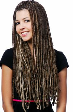 I might want to get micro braids someday. But all one color