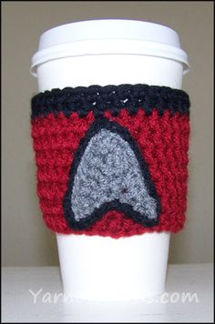 star trek coffee cup cozy: perfect for any syfy guy/gal