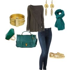 teal bags must be very in right now. i like this trend :-)