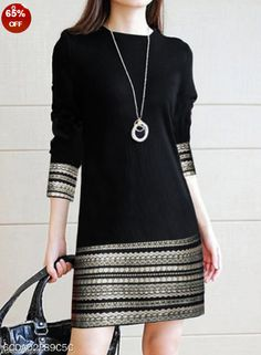 Round Neck Printed Daily Shift Dress , formal dresses maxi dresses womens dresses summer dresses party dresses long dresses casual dresses dresses for wedding , # Kleidung Design, Casual Dresses For Women, Clothes For Women, Elegant Dresses, Dress Casual, Formal Dresses, Casual Outfits, Wedding Dresses, Romantic Dresses