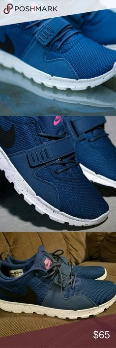 Nike SB Trainerendor Blue Force Practically brand new, worn once. Nike Shoes