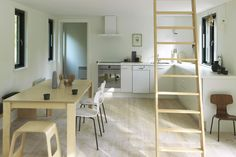 Tisvildeleje / Lykke and Nielsen – nowoczesna STODOŁA   wnętrza & DESIGN   projekty DOMÓW   dom STODOŁA