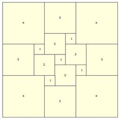 Imperfect Squares are squares with smaller squares packed within them. The squares can be identical. It is similar to the perfect rectangles, in which how many smaller squares can fit in or be dissected out for the large square?