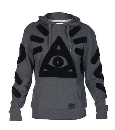 DECIBEL MENS CHENILLE EMBROIDERED PULLOVER HOODIE (GREY) WAS: $78 NOW: $59.99 http://www.jimmyjazz.com/mens/clothing/decibel-chenille-embroidered-pullover-hoodie/C031508?color=Grey