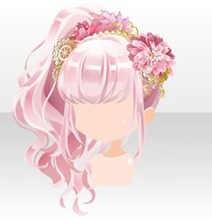 Anime Girl Hairstyles, Kawaii Hairstyles, How To Draw Anime Hair, Pelo Anime, Anime Princess, Fashion Design Drawings, Cocoppa Play, Hair Reference, Drawing Clothes
