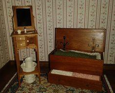Elga's Miniatures: Blanket chest