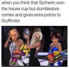 Poor slytherin,,, See more funny pics at http://comedyfunnylol.blogspot.co.id/2015/12/poor-slytherin.html