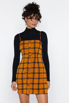Clueless Plaid Mini Dress Shop Clothes at Nasty Gal Outfits Clueless, Hipster Outfits, Retro Outfits, Cute Casual Outfits, Fashion Outfits, Plaid Outfits, Clueless Fashion, Rock Outfits, Hipster Clothing
