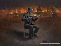Sure starting to feel that way. Painting by Jon McNaughton. Jon Mcnaughton, Allen West, The Great Fire, Litho Print, American Freedom, Freedom Of Speech, Old Quotes, Our Country, Persecution