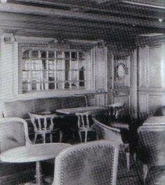 second class passengers on titanic | 2nd Class Smoking Room