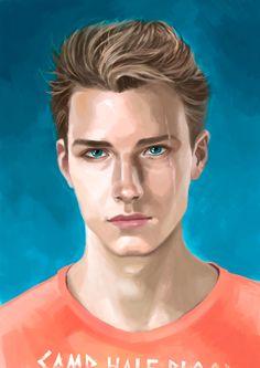 alice-blake-art:Luke Castellan [Before the storm began]