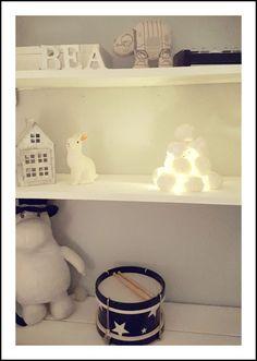 DIY snow lantern