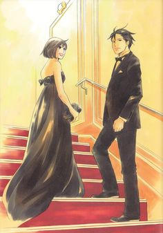 Nodame Cantabile by Ninomiya Tomoko Anime Couples, Cute Couples, Cartoon Live, Cosplay Tumblr, Real Anime, Drawing Projects, Manga Love, Anime Life, Couple Art