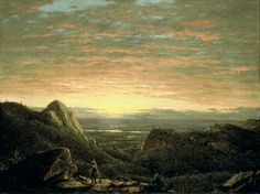 Morning Looking East - Frederic Church- Hudson River School- Albany Institute of History and Art