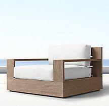 Marbella Teak Classic Lounge Chair Cushions