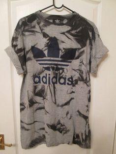 8d24b60febe Vintage acid wash tie dye adidas originals retro rave by MyTyeDie Festival  T Shirts