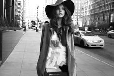 Emily DiDonato wears floppy hats pose for Vogue Mexico Magazine January 2016 issue Photoshoot