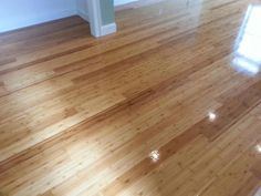 Central Mass Hardwood sanded and refinished a beautiful Bamboo floor in Watertown, MA. We applied three coats of oil base polyurethane to create a beautiful shine and protect the wood!