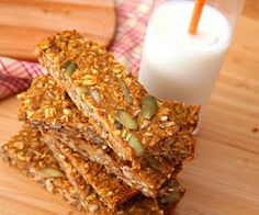 Pumpkin Spice Seed Bars (Low Carb and Gluten Free) | All Day I Dream About Food