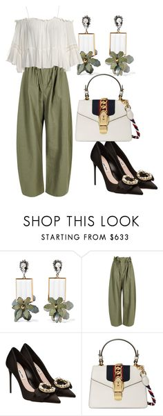 """Luxury Suite Hunting"" by didiiidia on Polyvore featuring Marni, STELLA McCARTNEY, Miu Miu, Gucci and Sans Souci"