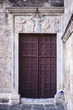 Old Town Rhodes. Old Town Rhodes, Rhode Island, Landscape Photography, Medieval, Greece, Doors, Outdoor Decor, Greece Country, Landscape Photos