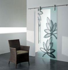 madras innentür geätzt satiniert von Vitrealspecchi | Bathroom ...