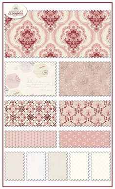 Beaujolais fabric line by Sue Daley for Penny Rose Fabrics—Subscribe to our newsletter at http://www.rileyblakedesigns.com/newsletter/