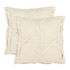 Safavieh caning pillow