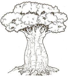Kenya crafts: Baobab Trees