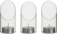 Wall-mounted candleholder in all lighting | CB2.com   How cute with tealights OR small spring floral sprigs on the wall?!