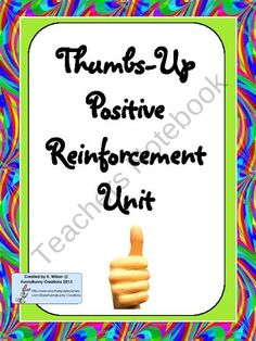Positive Reinforcement Activities with a