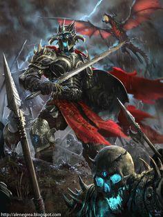 LOC - Undead Knight advanced by alexnegrea on deviantART