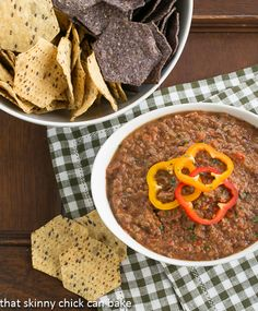 Smoky Black Bean Dip | Spicy, Smoky with a touch of sweetness!!!