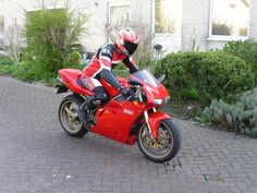 Me and my Ducati 996
