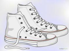 Image intitulée Clean White Converse Step 1