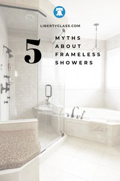In the past, frameless showers were most often seen in high-end homes and luxury hotels.