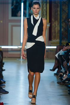 Ava Smith in Roland Mouret Spring 2013