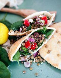 Greek Lentil and Feta Salad - Some the Wiser