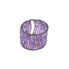 Bracelet made of sterling silver 925 and amethyst stones Amethyst Stone, Bracelet Making, Druzy Ring, Silver Jewelry, Stones, Fashion Jewelry, Sterling Silver, Bracelets, Rings