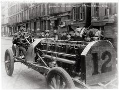 Alfred Gwynne Vanderbilt's 250 Horse Power Auto, c. 1906