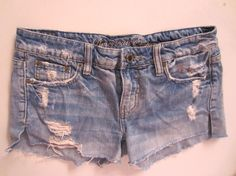 American Eagle Jean Shorts Size 0  Excellent Condition All items are final sale
