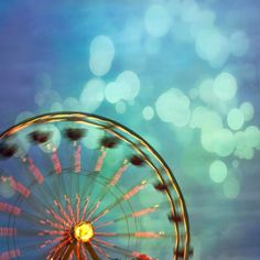fall carnivale. illustration background inspiration. blurry lights. action. fun. soft. clear colors.    (Carnival)